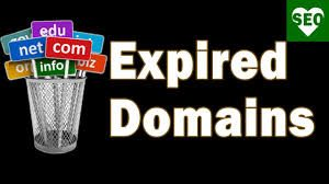 Expired Domain Names