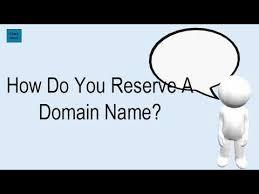 Reserve Domain Names